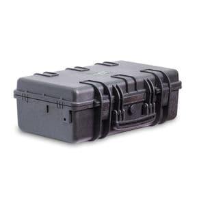 Кейс Калибр 5010 с насеченным поропластом, черный, Наполнение: поропласт, Цвет: черный, фото